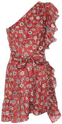 Etoile Isabel Marant Isabel Marant, étoile Teller one-shoulder linen dress