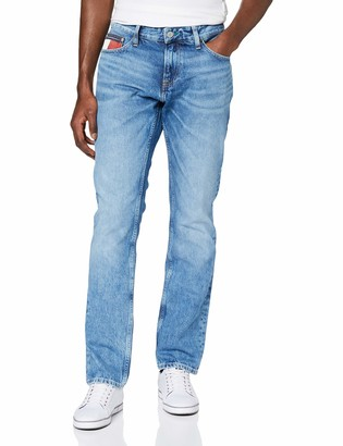 Tommy Jeans Men's Scanton Heritage Svltr Straight Jeans
