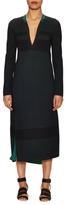 Proenza Schouler Asymmetrical Slim Fit Knit Dress