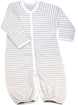 Under the Nile Nature's Nursery Convertible Baggie Baby Clothing in Tan Stripes