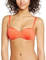 Bananamoon Banana Moon Women's AULEO WOSKIN Strapless Plain Bikini Top,(Manufacturer size: 42)
