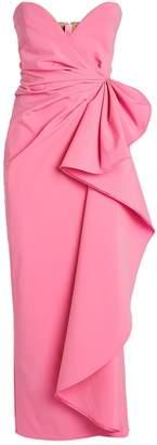 ATTICO The Strapless Drape Gown