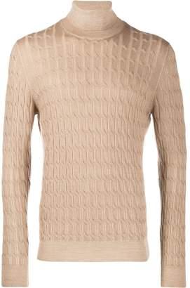 D'aniello La Fileria For turtle neck sweater