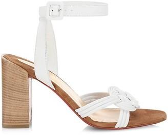 Christian Louboutin Ella Leather Sandals