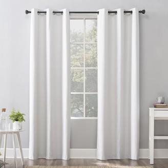 Sun Zero Cyrus Thermal 100% Blackout Grommet Window Curtain