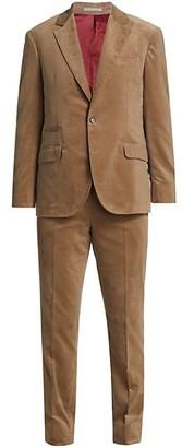 Brunello Cucinelli Classic Corduroy Suit