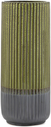 Torre & Tagus Palma Layered Glaze Ceramic 13.5In Vase