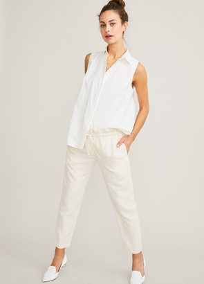 Hatch The Linen Paperbag Pant