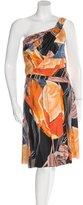 Christian Dior Silk Geode Print Dress