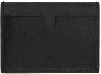 Alyx Black Ryan Logo Pattern Card Holder