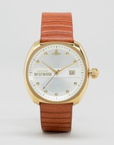Vivienne Westwood Tan Leather Strap Watch