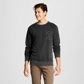 Men's Washed Crew Pullover Ebony - Mossimo Supply Co.