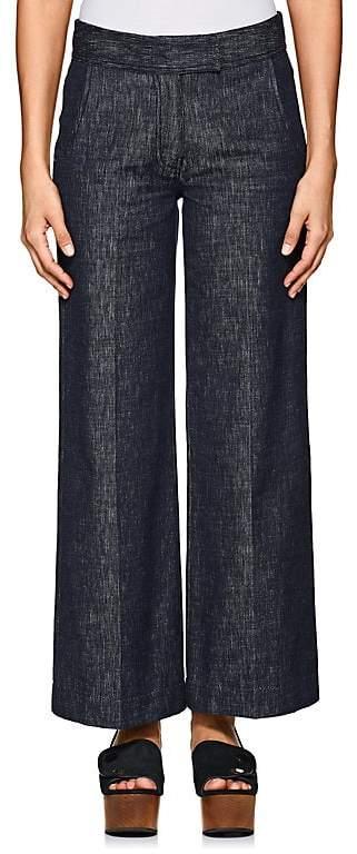 Derek Lam Women's Wide-Leg Culotte Jeans
