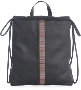 Paul Smith Bag Multistripe Drawstring
