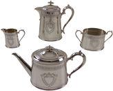 One Kings Lane Vintage Oval Tea & Coffee Set, 4 Pcs