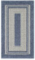 Bed Bath & Beyond Double Border Accent Rug in Slate Blue
