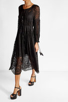 Zimmermann Lace Silk Dress