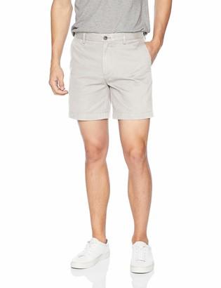 "Amazon Essentials Slim-fit 7"" Short Grey W31''"