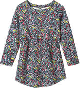 Joe Fresh Toddler Girls' Long Sleeve Floral Dress, Print 1 (Size 2)