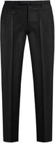 Incotex Slim-leg wool-flannel trousers