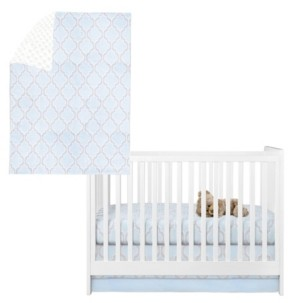 Pam Grace Creations Medallion 3 Piece Crib Bedding Set Bedding