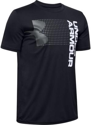 Under Armour Boys' UA Velocity Crossfade Short Sleeve