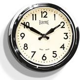 Newgate Clocks - 50's Electric Clock - Chrome