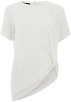 Designers Remix Women's Rion Knot TShirt - White