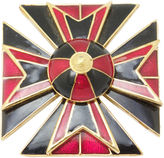 One Kings Lane Vintage Ciner Maltese Cross Pin