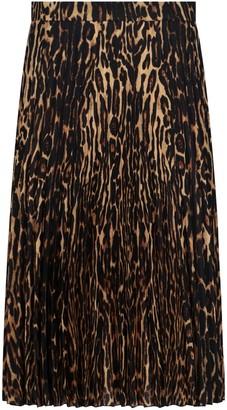 Burberry Rersby Midi Skirt