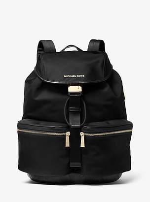 Michael Kors Perry Large Nylon Gaberdine Backpack