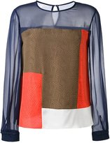 Diane von Furstenberg raegan top - women - Silk - 6