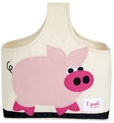 3 Sprouts Organic Caddy Tote Bag, Pig