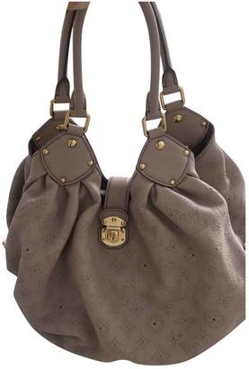 Louis Vuitton Mahina Pink Leather Handbags