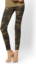 New York & Co. Soho Jeans - High-Waist Pull-On Ankle Legging - Camouflage Print