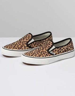 Vans Leopard Slip-On SF Womens Shoes