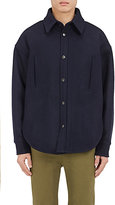 Balenciaga Men's Cotton Felt Shirt Jacket