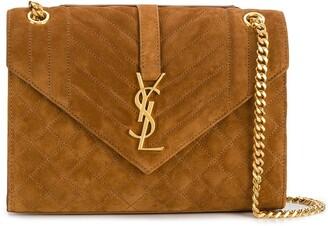 Saint Laurent medium Envelope matelasse shoulder bag