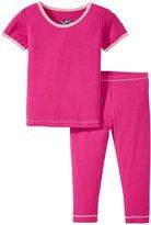Kickee Pants Pajama Set (Baby) - Calypso - Preemie