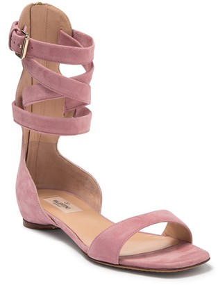 Valentino Suede Gladiator Sandal