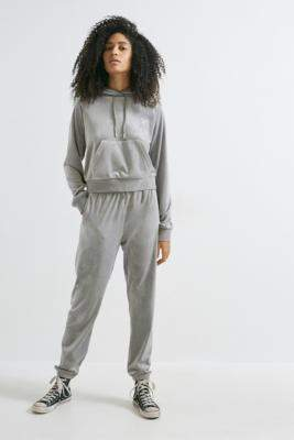 Juicy Couture UO Exclusive Silver Track Pants - silver XS at Urban Outfitters