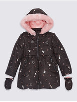 Marks and Spencer All Over Print Padded Coat with StormwearTM (3 Months - 7 Years)