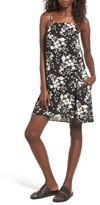 Mimichica Women's Print Lattice Back Dress