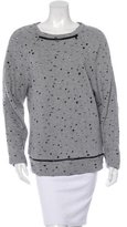 Robert Rodriguez Distressed Crew Neck Sweater
