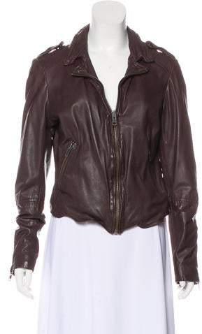 Muu Baa Muubaa Leather Moto Jacket