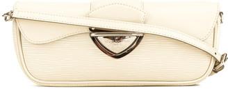 Louis Vuitton White Epi Leather Montaigne