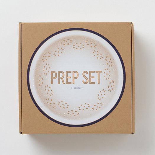 Enamelware Prep Set