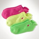 No-Show Sock Three-Pack