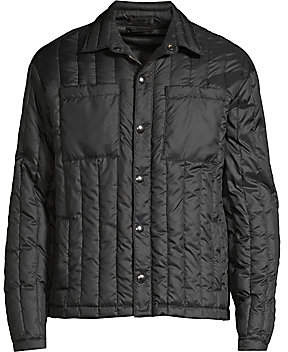 ATM Anthony Thomas Melillo Men's Boxy Quilted Down Jacket