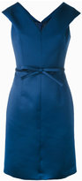 Paule Ka bow-waist dress - women - Polyester/Cupro - 38
